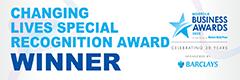 Norfolk Business Awards 2020 - Changing Lives Special Recognition Award Winner