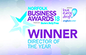 Norfolk Business Awards 2018 - Director Of The Year Winner