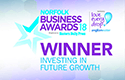 Norfolk Business Awards 2018 - Investing In Future Growth Winner