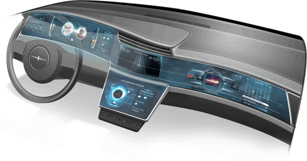 This image is showing an example of a Large Automotive Display Window